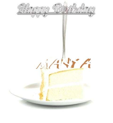 Happy Birthday Wishes for Manya