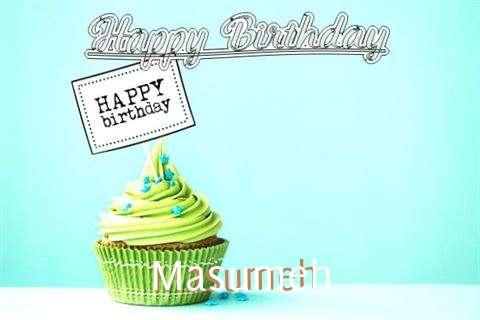 Happy Birthday to You Masumeh