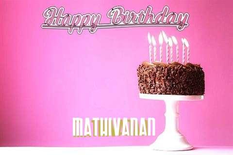 Happy Birthday Cake for Mathivanan