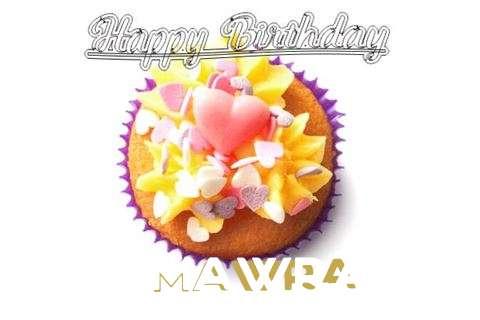 Happy Birthday Mawra Cake Image