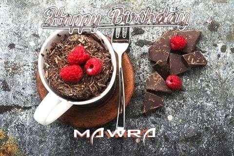 Happy Birthday Wishes for Mawra