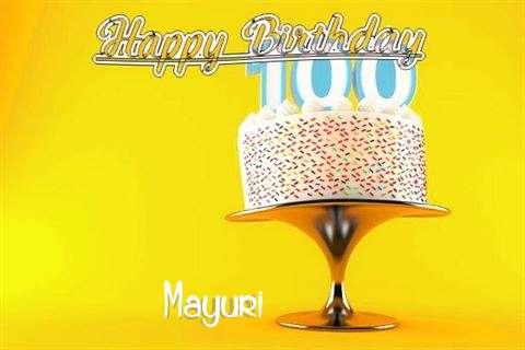 Happy Birthday Wishes for Mayuri