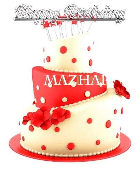 Happy Birthday Wishes for Mazhar