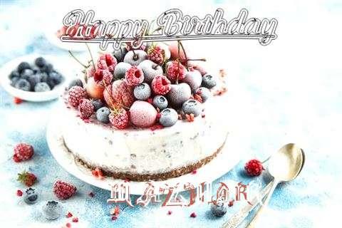 Happy Birthday Cake for Mazhar