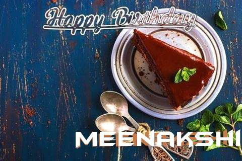 Happy Birthday Meenakshi Cake Image