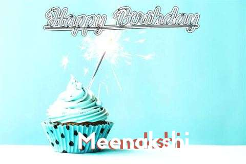 Happy Birthday Cake for Meenakshi