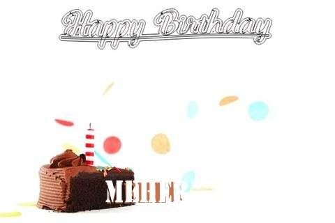 Happy Birthday Cake for Meher