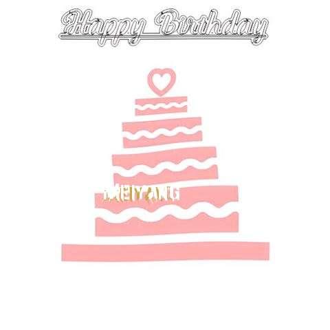 Happy Birthday Meiyang Cake Image