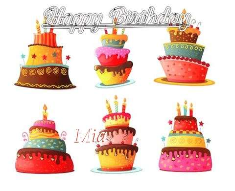Happy Birthday to You Mia