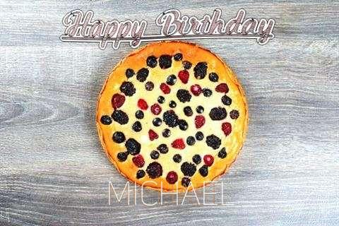 Happy Birthday Cake for Michael