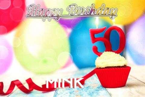 Mink Birthday Celebration