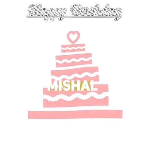 Happy Birthday Mishal Cake Image