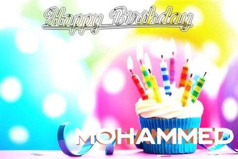 Happy Birthday Mohammed
