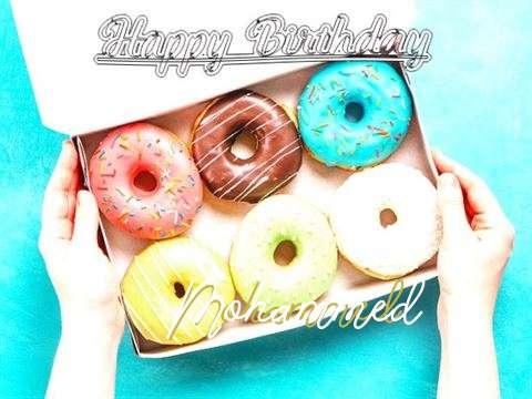 Happy Birthday Mohammed Cake Image