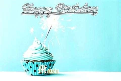 Happy Birthday Cake for Mohsin