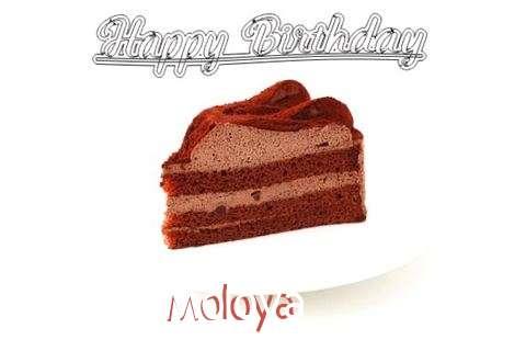 Happy Birthday Wishes for Moloya