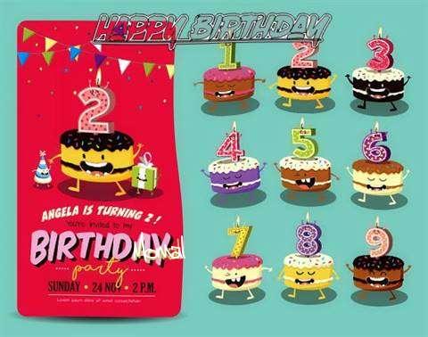 Happy Birthday Momal Cake Image