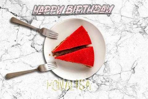 Happy Birthday Monalisa