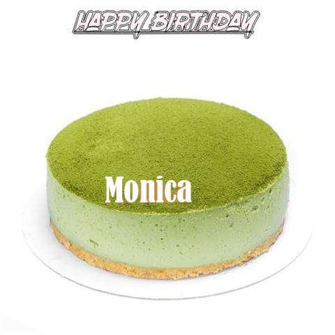 Happy Birthday Cake for Monica