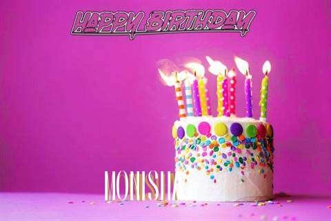 Birthday Wishes with Images of Monisha