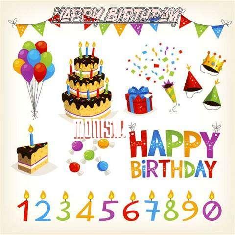 Birthday Images for Monisha