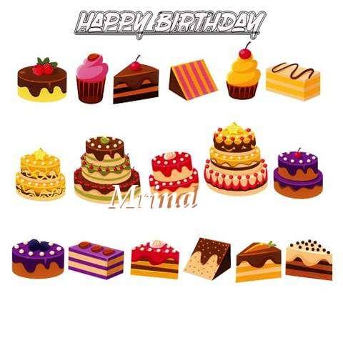 Happy Birthday Mrinal Cake Image
