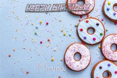Happy Birthday Mrunal Cake Image