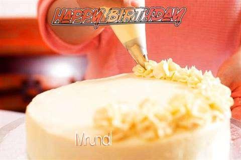 Happy Birthday Wishes for Mrunal