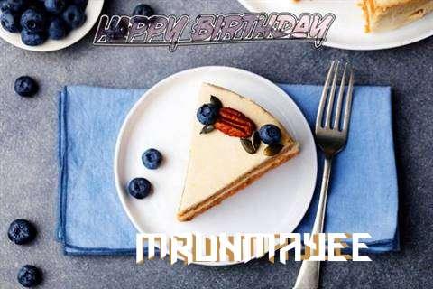 Happy Birthday Mrunmayee Cake Image