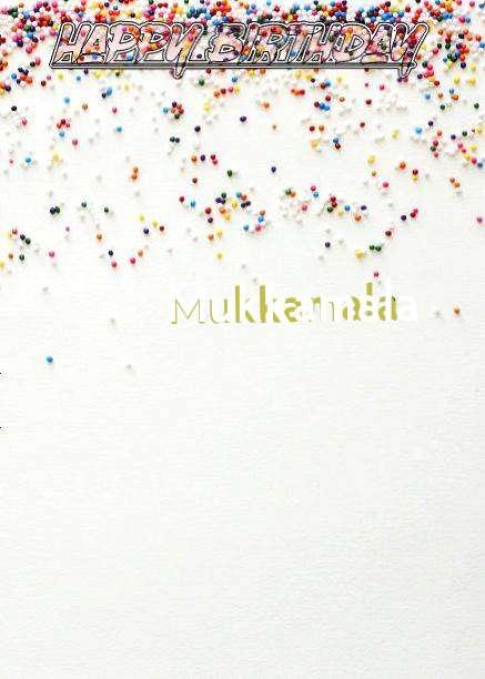 Happy Birthday Mukkamala