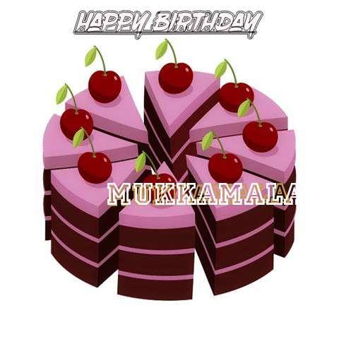 Happy Birthday Cake for Mukkamala