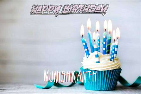 Happy Birthday Munishkanth Cake Image
