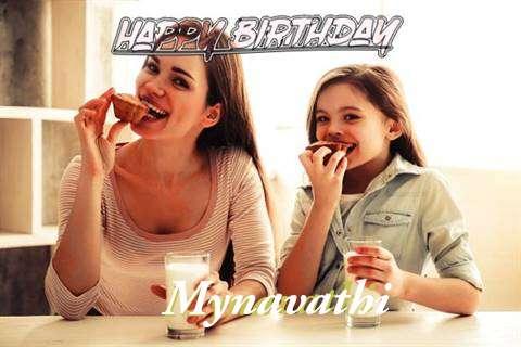 Birthday Wishes with Images of Mynavathi