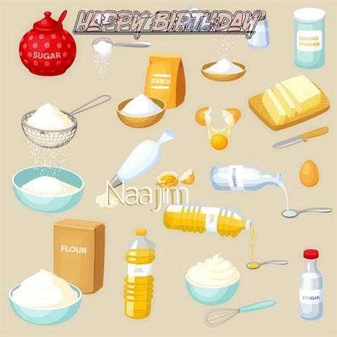 Birthday Images for Naajim
