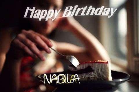 Happy Birthday Wishes for Nabila