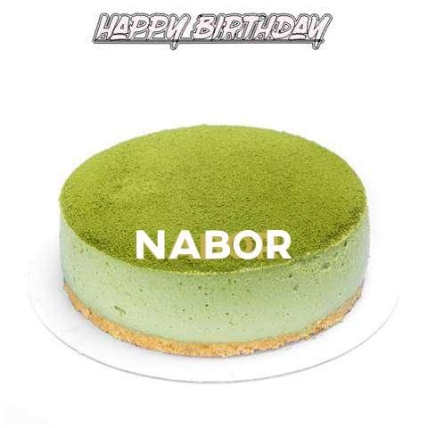 Happy Birthday Cake for Nabor