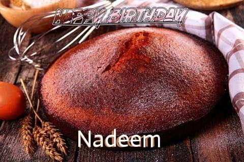 Happy Birthday Nadeem Cake Image