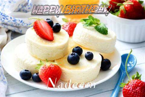 Happy Birthday Wishes for Nadeem