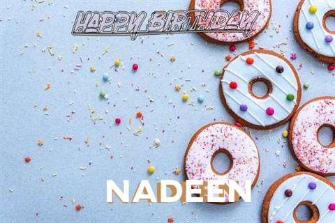 Happy Birthday Nadeen Cake Image