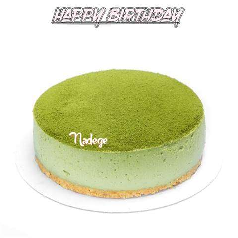 Happy Birthday Cake for Nadege