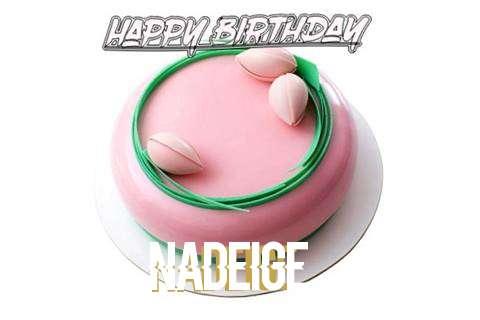 Happy Birthday Cake for Nadeige