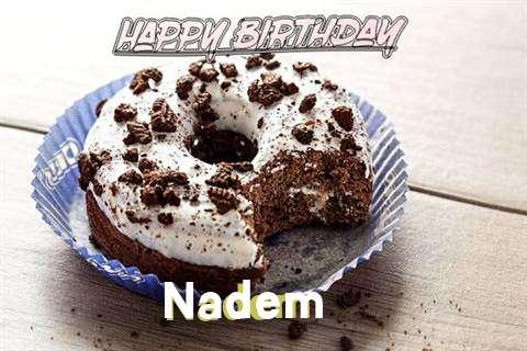 Happy Birthday Nadem