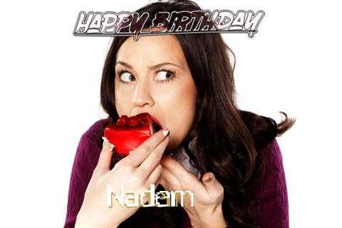 Happy Birthday Wishes for Nadem