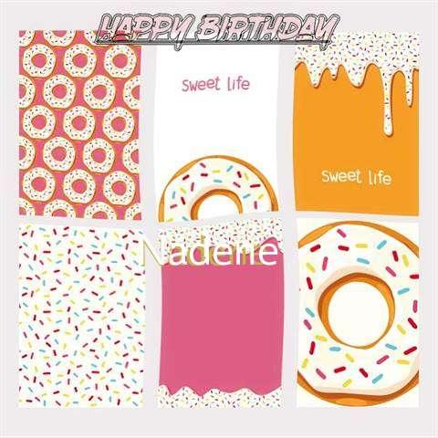 Happy Birthday Cake for Nadene