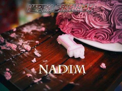 Nadim Birthday Celebration