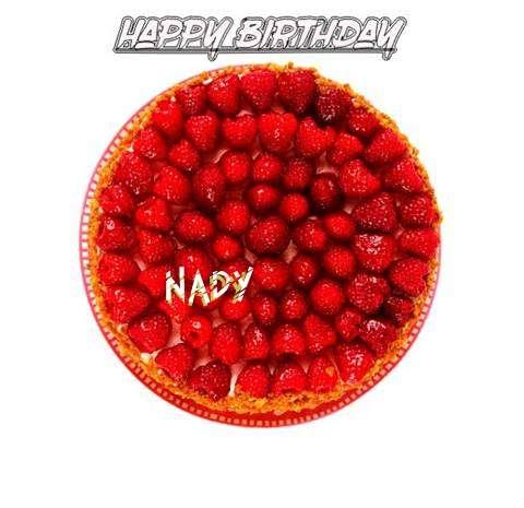 Happy Birthday to You Nady
