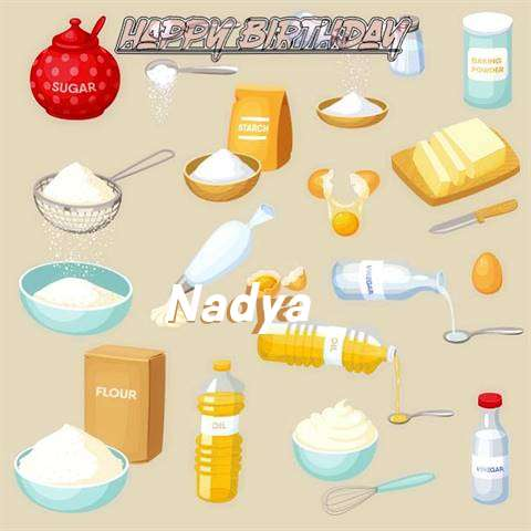 Birthday Images for Nadya