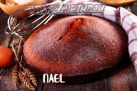 Happy Birthday Nael Cake Image