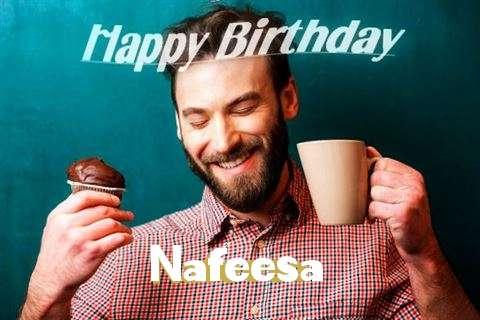 Happy Birthday Nafeesa Cake Image