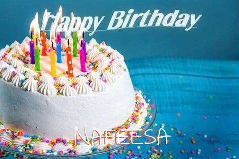 Happy Birthday Wishes for Nafeesa